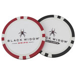 ZDTEBW01 Black Widow Poker Chip Ball Markers