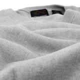Greg Norman Mens V Neck Pullover Grey Heater