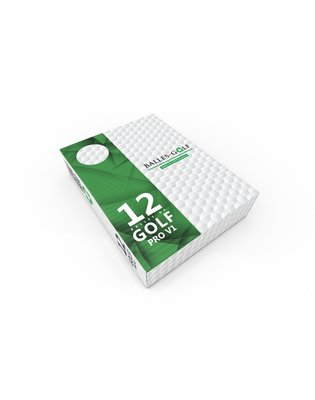 TITLEIST PRO V1 / Grade A  gerecycleerde golfballen Wit - 12 stuks