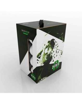 TITLEIST Mix / Grade A gerecycleerde golfballen Wit - 24 stuks