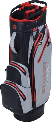 FASTFOLD Sturdy Ultra Dry Cart Bag Grey/Black/Red