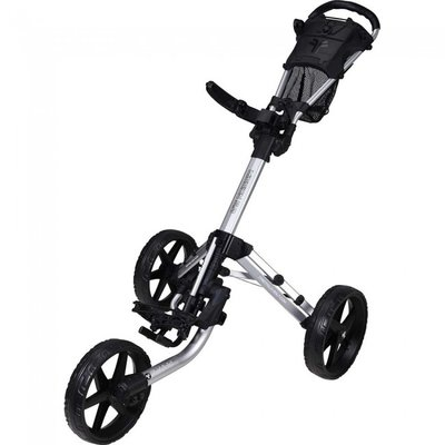 Fastfold Mission 5.0 Golftrolley - Shiny Silver/Black