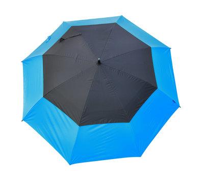 Masters TourDRI UV beschermende golfparaplu - ELECTRIC BLUE/JET BLACK