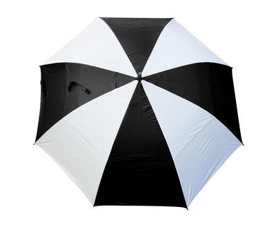 Masters TourDRI UV beschermende golfparaplu - JET BLACK/WHITE PANELS