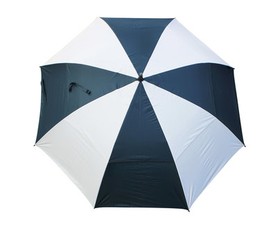 Masters TourDRI UV beschermende golfparaplu - NAVY/WHITE PANELS