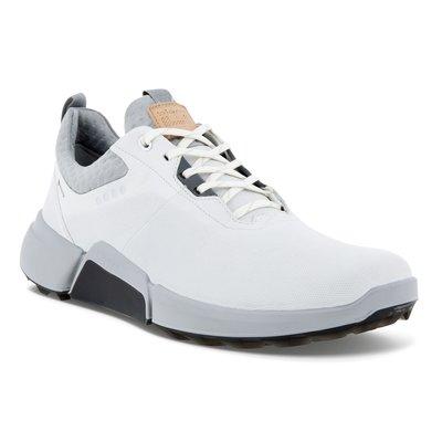 Ecco Biom Hybrid 4 Golfschoenen Heren - White/Concrete