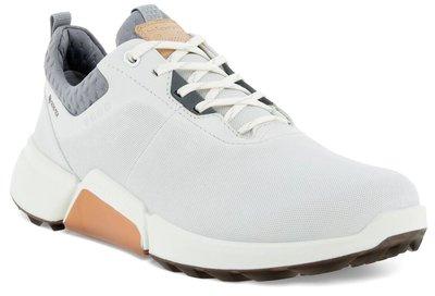 Ecco Biom Hybrid 4 Golfschoenen Dames - White/Silver Grey
