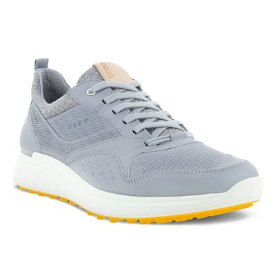 Ecco S-CASUAL Golfschoenen Heren - Silver/Grey