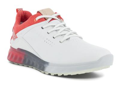 Ecco S-THREE Golfschoenen Dames  White/Hibiscus