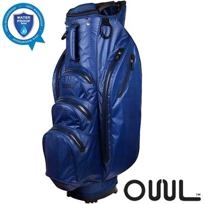OUUL Python Waterdichte Cart Bag Navy/Dark Navy/Blue
