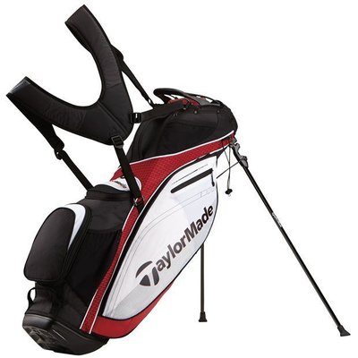 TaylorMade TourLite Stand Bag Red/White/Black