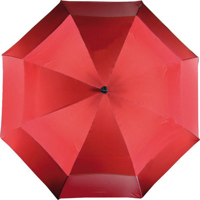 Boston Double Canopy Umbrella Red