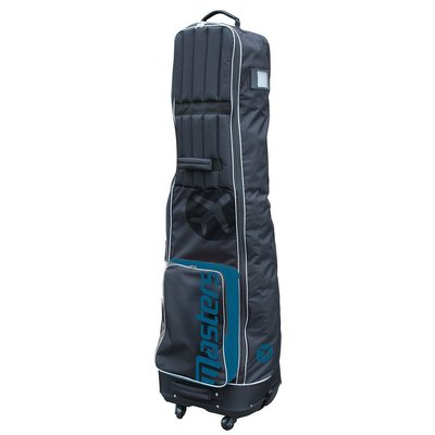 Masters Deluxe 4-Wheel Flight Cover Black/Blue