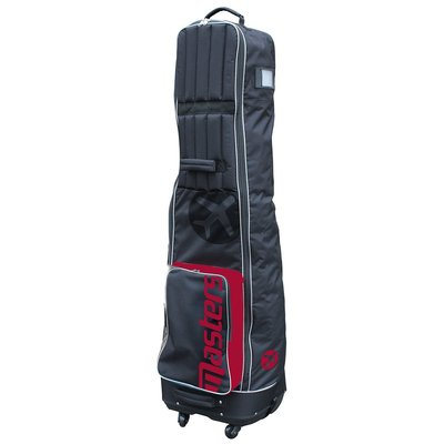 Masters Deluxe 4-Wheel Flight Cover Black/Red