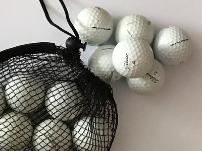 Titleist Pro V1X gerecycleerde golfballen Wit - 12 stuks