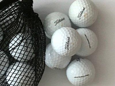 Titleist Velocity gerecycleerde golfballen Wit - 12 stuks