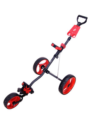 Boston Junior 3-Wiel Trolley Charcoal/Rood