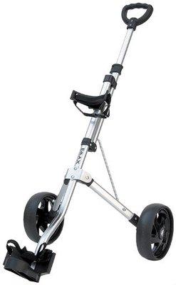 BIG MAX Junior 2-Wiel Golftrolley Zilver
