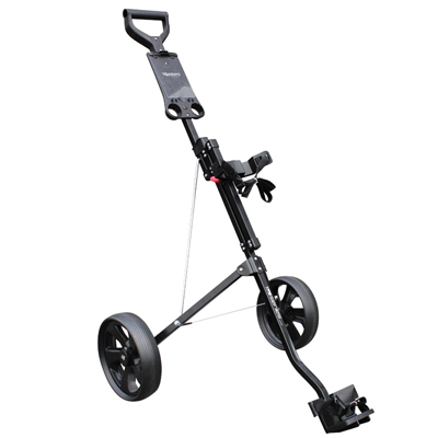 Masters/FastFold Junior 2-Wiel Golftrolley Zwart