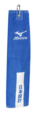 Mizuno Tri-Fold Clip Towel Staff Navy
