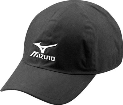 Mizuno Waterproof Cap Black