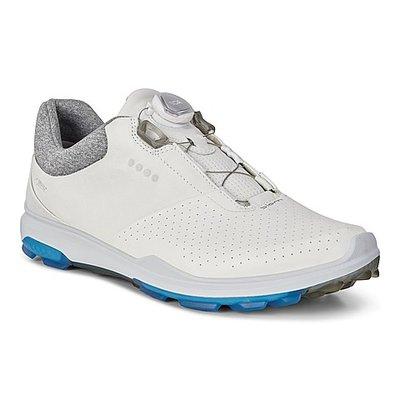 Ecco Biom Hybrid 3 Boa White/Dynasty Golfschoenen Heren