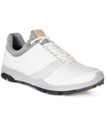 Ecco Biom Hybrid 3 White/Black Golfschoenen Dames