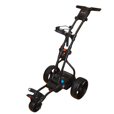 BIG MAX Terrain Brake Elektrische Golftrolley - Zwart