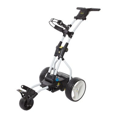 BIG MAX Terrain Brake Elektrische Golftrolley - Wit