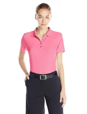 Greg Norman ProTek Micro Pique Polo Pink Blush - Dames