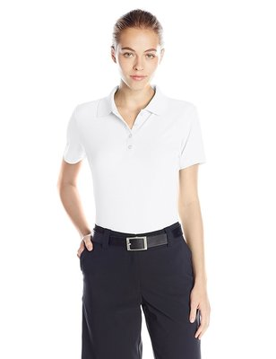 Greg Norman ProTek Micro Pique Polo White - Dames