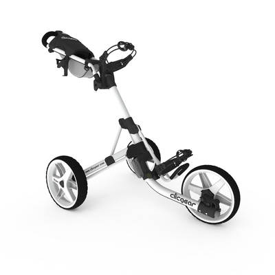 Clicgear 3.5+ Golftrolley - All Arctic White