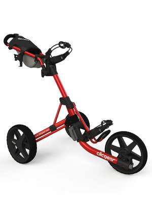 Clicgear 3.5+ Golftrolley - Red/Black