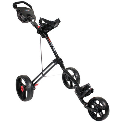 Masters 5 Series 3-Wiel Push Golftrolley - Zwart