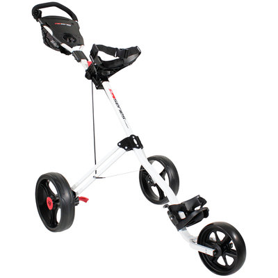 Masters 5 Series 3-Wiel Push Golftrolley - Wit