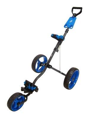 Boston Junior 3-Wiel Trolley Charcoal/Blauw
