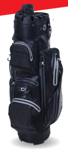 Fastfold ZCB Waterproof Cart Bag Black-Gey