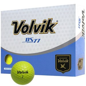 Volvik DS77 Long Long Golf Balls Yellow