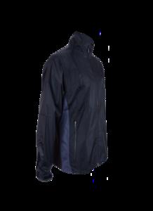 Greg Norman Mens Shark 5000 Rain Jacket Black/Grey