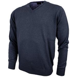 Greg Norman Mens V Neck Pullover Navy